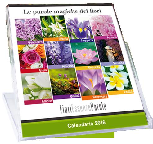 Calendaridea. Calendario FioriEssenzeParole 2016