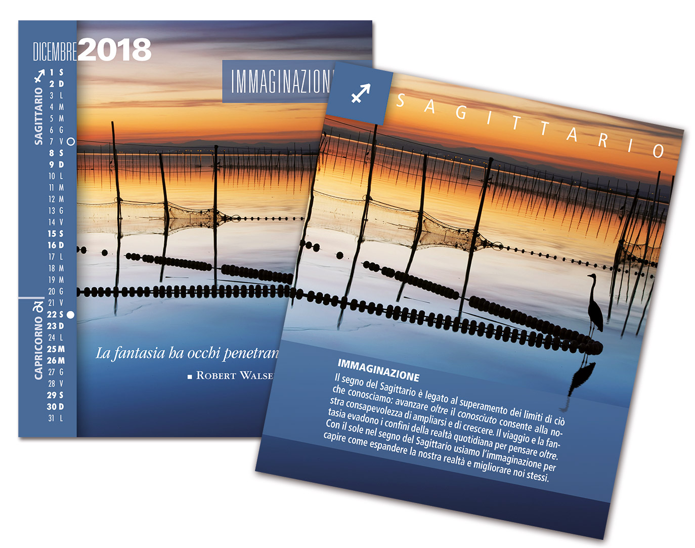 Calendario 2018 SegniSimboliParole Dicembre
