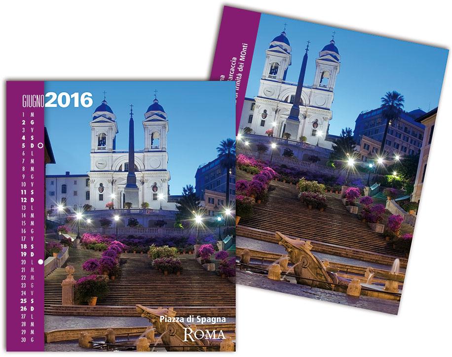 Scheda calendario RomaColoriAtmosfere 2016 giugno