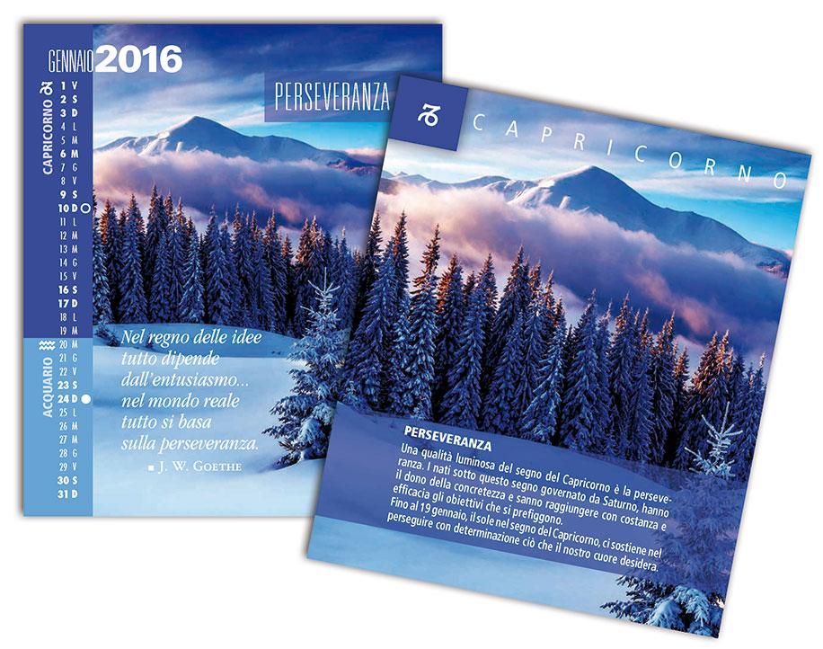 Scheda calendario SegniSimboliParole 2016 gennaio