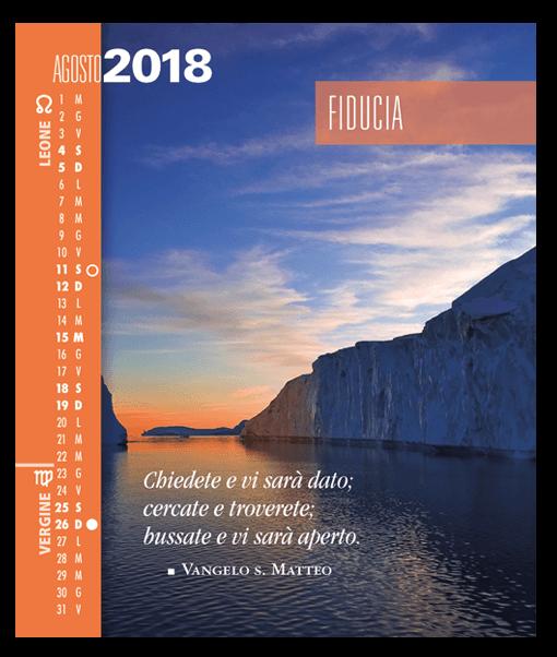 Calendario 2018 astrologico SegniSimboliParole