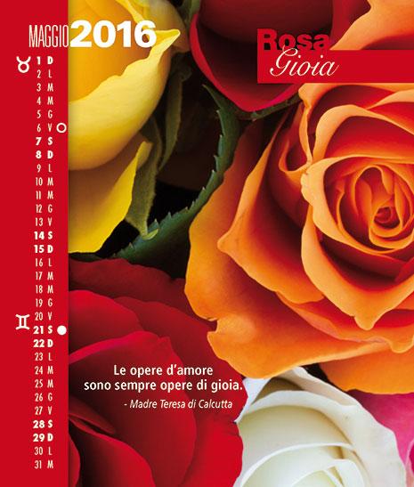 Calendario FioriEssenzeParole 2016 Maggio