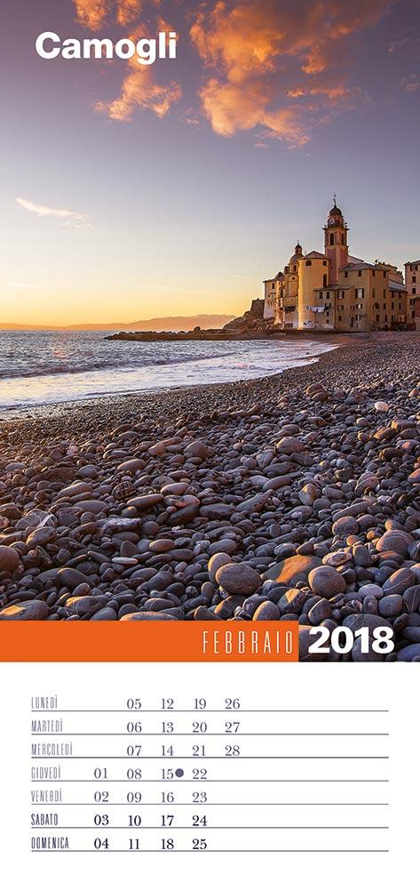 Calendario 2018 Biancolapis - Febbraio
