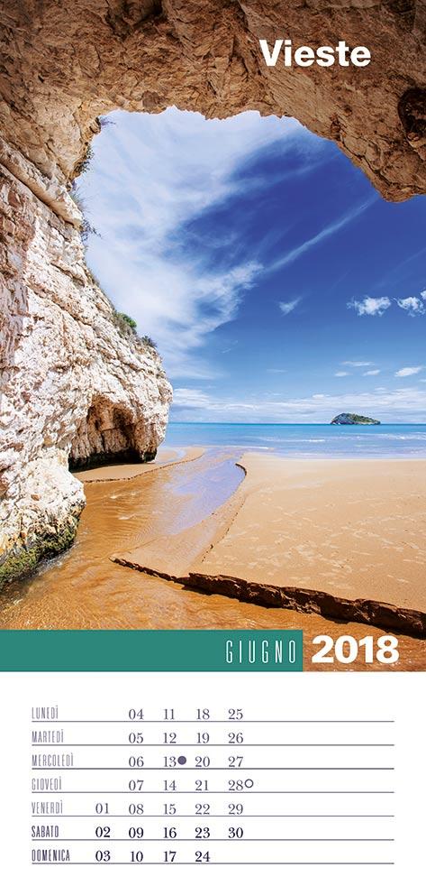 Calendario 2018 Biancolapis - Giugno