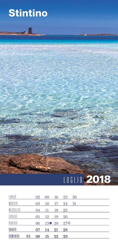 Calendario 2018 Biancolapis - Luglio