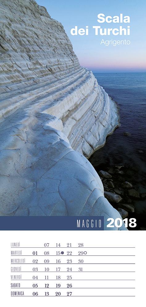 Calendario 2018 Biancolapis - Maggio