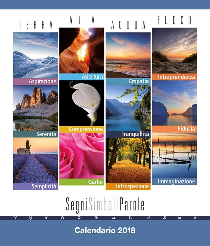 Calendario astrologico 2018 Copertina
