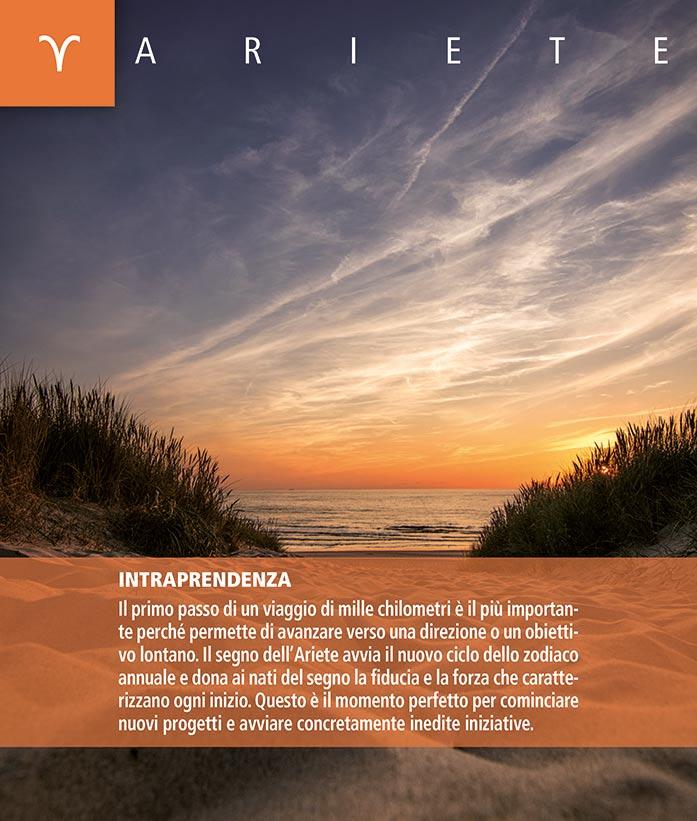 Calendario SegniSimboliParole 2018. Aprile retro 2018