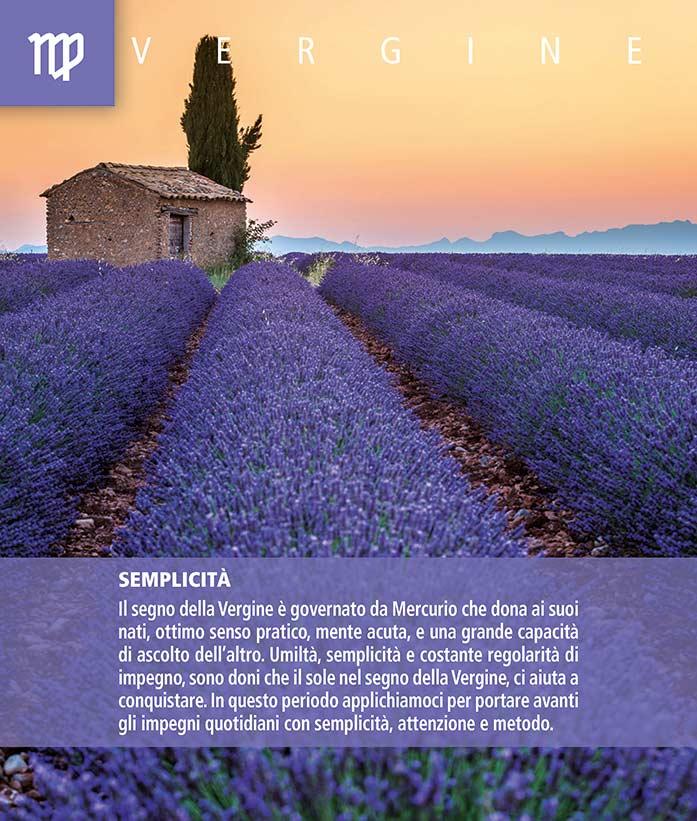 Calendario SegniSimboliParole 2018. Settembre retro 2018